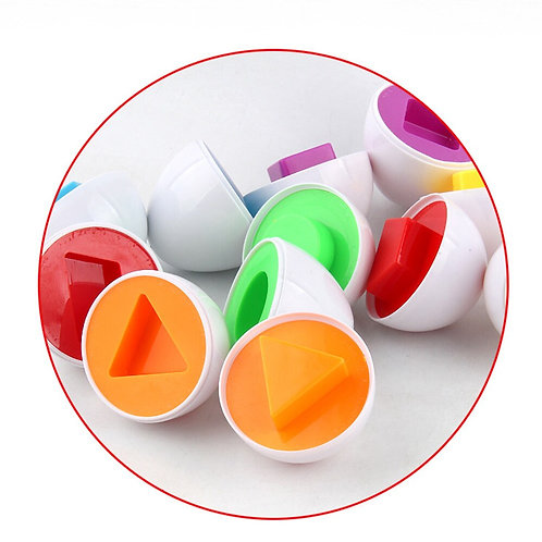 6Pcs Egg sorting and shape