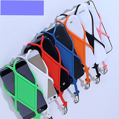 Universal Silicone Cell Phone Lanyard Holder