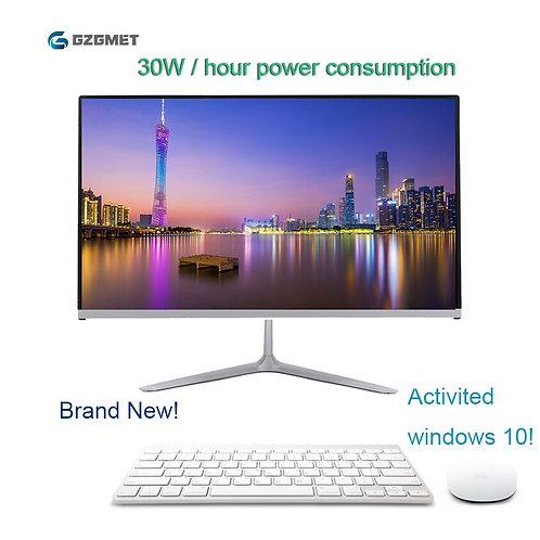 23.6 Inch All in One Pc Windows 10 Computer Intel I3 I5 Core