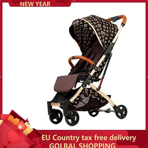 Baby Stroller Trolley Car Trolley Folding Baby Carriage 2 in 1