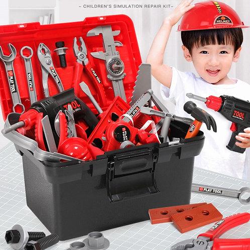 21-54pcs Garden Tool Toys Kids Pretend Play