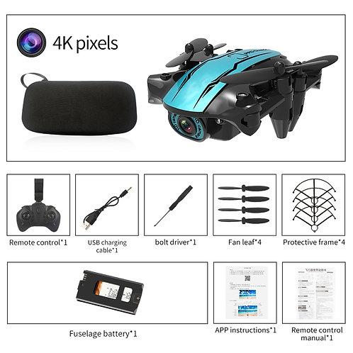 2020 New Cs02 Mini Drone Wide Angle 4k 1080p Wifi Fpv Camera Drones