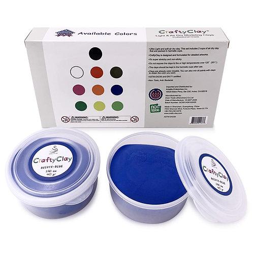 GCS01X-BLUE REFILL Air Dry Clays by CRAFTYCLAY