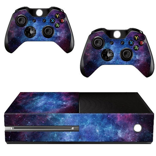 FULL-Nebula Pattern Skin Sticker Xbox ONE Console Controller Kinect Decal Vinyl