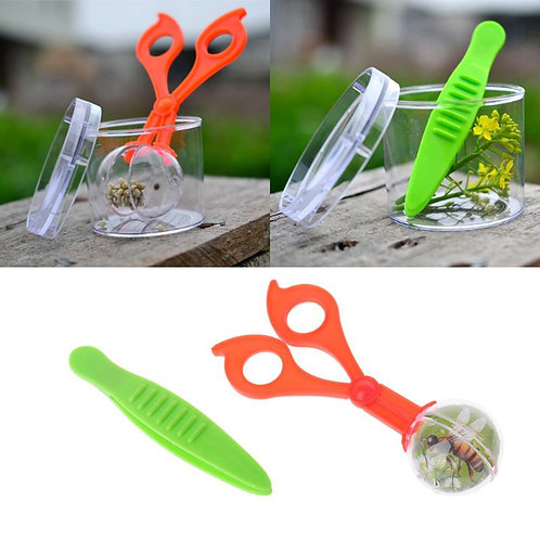 2 Pcs Plastic Bug Insect Catcher