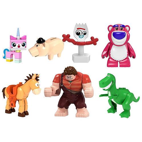Disney Action Figure Diy Model Toy for Children Gifts
