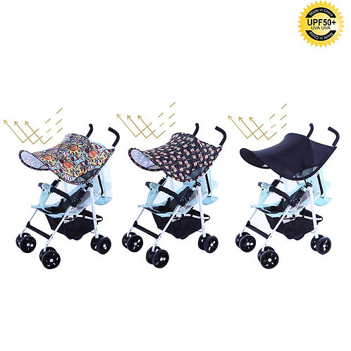 Baby Strollers Accessories Sunshade Blocking 99% UV Breathable