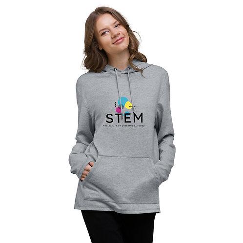 STEM logo Unisex Lightweight Hoodie
