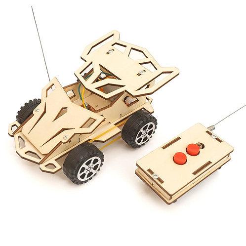 Kids DIY Wireless RC Racing Car Model Scientific Experiment Kit