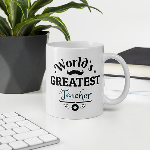 Worlds Greatest Teacher Mug