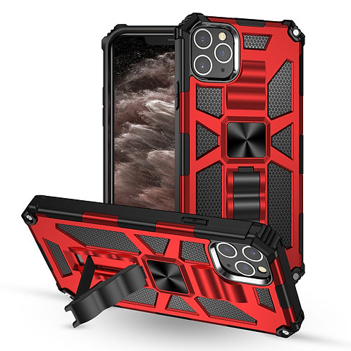 SE2020 Shockproof Bracket Armor Case for iPhone 12