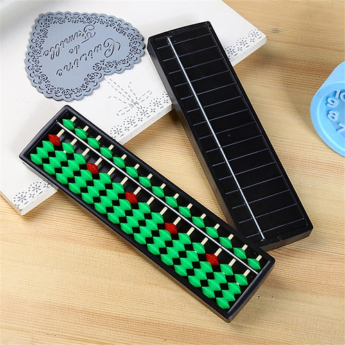 2020 Hot Sale Plastic 15 Digits Abacus Toys Arithmetic Tool
