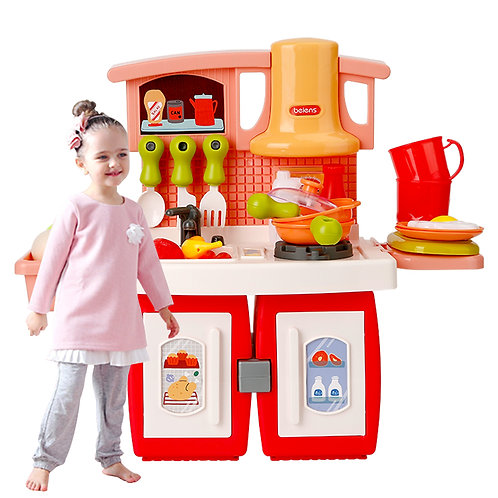 Beiens Kid's Kitchen Toys 26PCS pretend play set