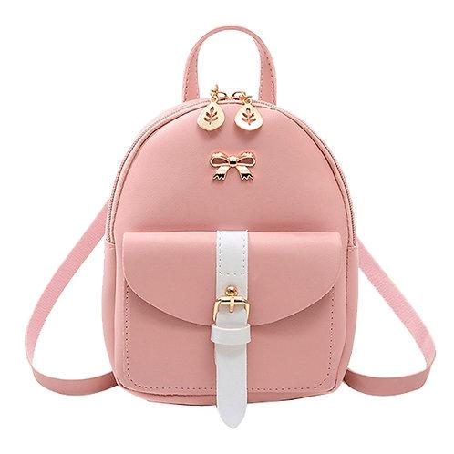 Women's Mini Backpack Luxury PU Leather Kawaii