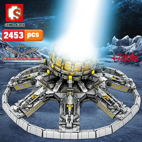 SEMBO 2453Pcs City Technic Series Building Blocks