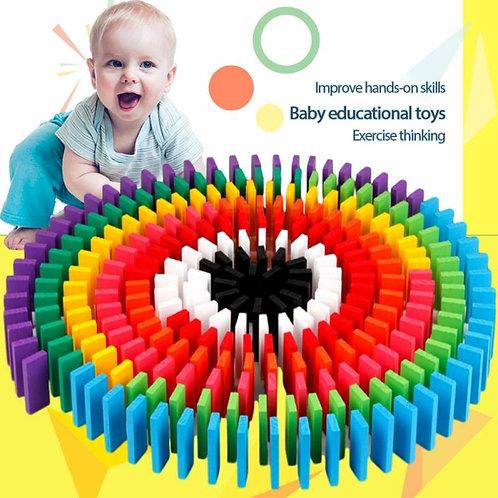 12 Colors 120 Pieces Children's Building Blocks