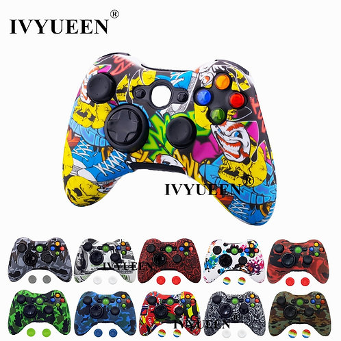 IVYUEEN Water Transfer Printing Protective Skin for Xbox 360
