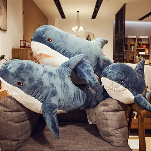 100/140cm Big Giant Polupar Shark Plush