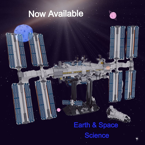 2020 Ideas Creator International Space Station Building Blocks Kit