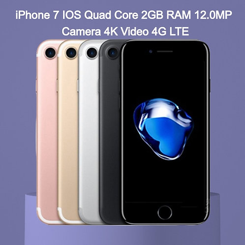 Original Apple iPhone 7 IOS Quad Core 2GB RAM 12.0MP