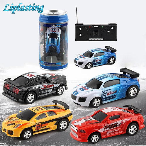 RC Cars Toy Creative Coke Can Mini Collection Radio Controlled Cars