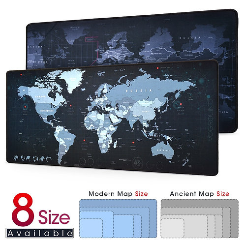 New World Map Speed Locking Edge  Mat for Warcraft Dota LOL