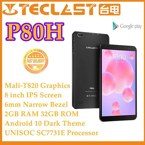 Tablets PC P80H Android 10.0 Tablet Quad Core 8 Inch