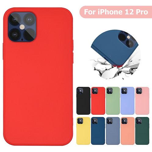 Imitation Original Liquid Silicone Cover for iPhone 12 12 Pro