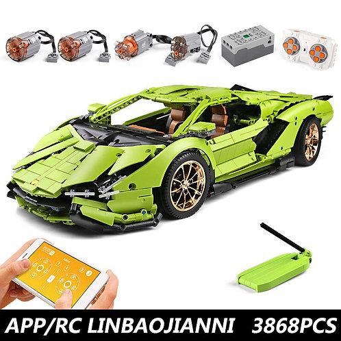 13090 Technic McLaren P1 Super RC Model Power Motor Function Toys 42115