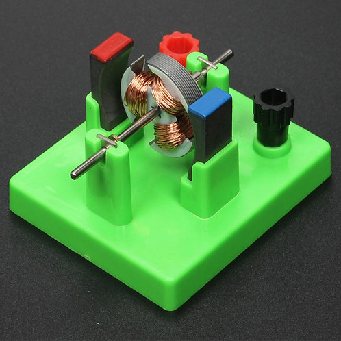 New DIY DC Electrical Motor Model Physics Experiment