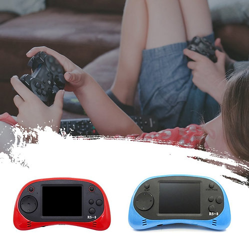 RS-8X Handheld Video Game Console Player Gaming System Built-In HD TV AV