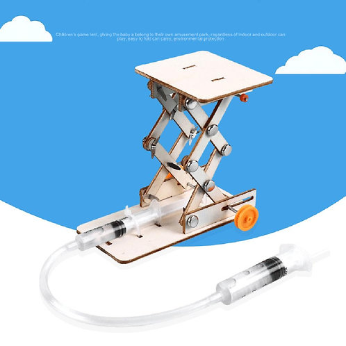 DIY Science Scientific Experiment Kit Hydraulic Lift TableSTEM Projects