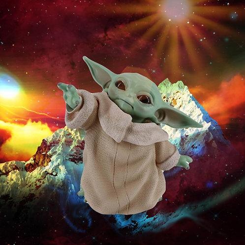 6inches Yoda Baby the Force Awakens Vinyl   Mandalorian