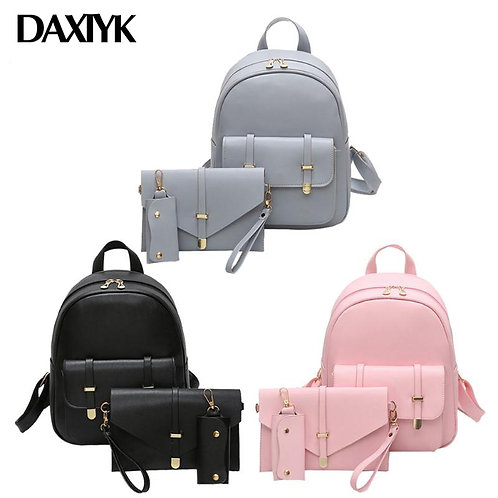 Dropshipping Women PU Leather Backpack