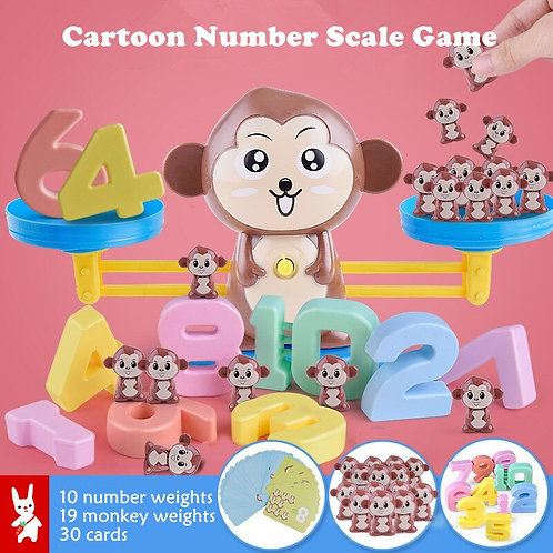 Number Balance Math Game Toys Learning Education