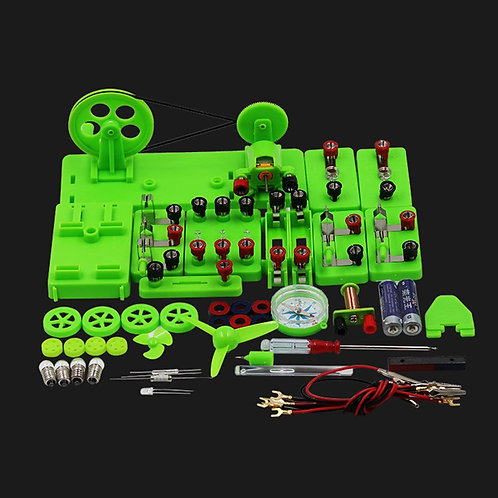 Student Physics Lab Electricity Circuit Magnetism Experiment Kit