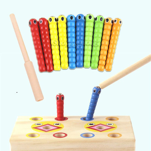 Montessori Math Toy Caterpillar Eats the Wand Kids