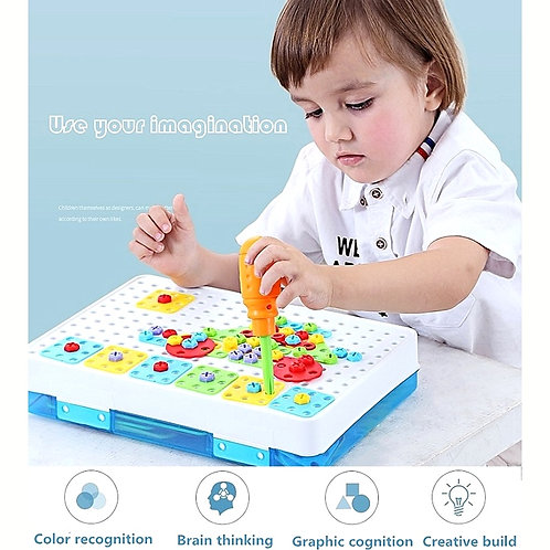 Kids Drill Toys Creative Pretend Play Toy