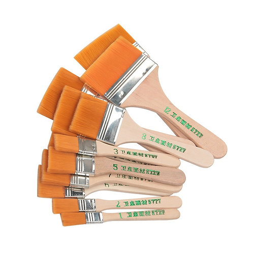 High Quality Nylon Paint Brush  Different Size