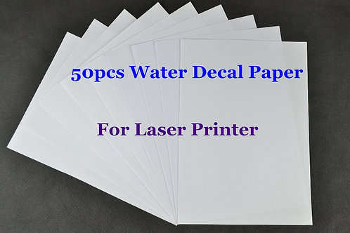 (50pcs/Lot) Laser Water Transfer Paper for Candle