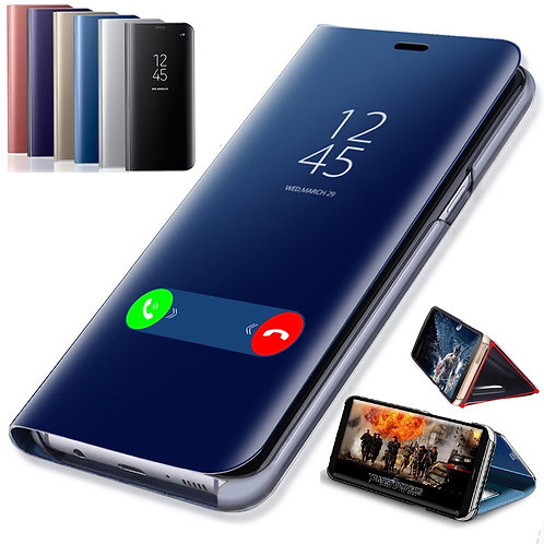 Mirror Flip Case for Samsung Galaxy A50 A51 A21s A71 A20 A10