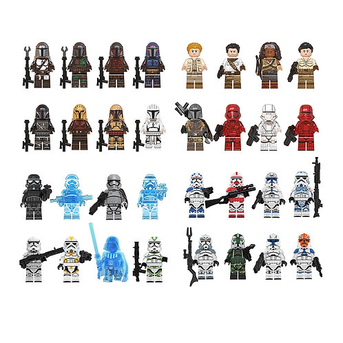 8pcs Set Compatible LEGO