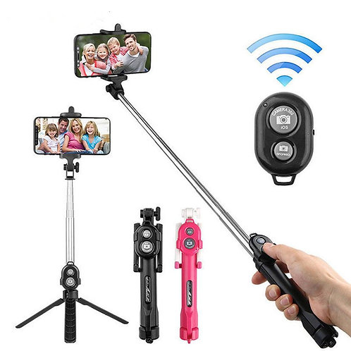 Remote Tripod Selfie Stick for Ios System Android Phone