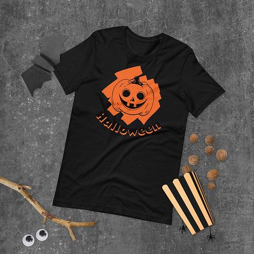 Hallowwen pumpkin Short-Sleeve Unisex T-Shirt