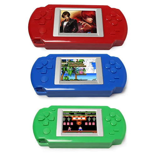 Ultra-Thin Portable 2.0'' Color Screen  Consoles 268-In-1 Classic Game Player