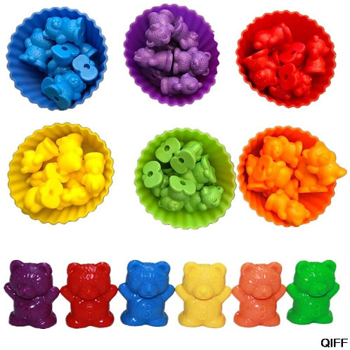 Counting Bears With Stacking Cups -