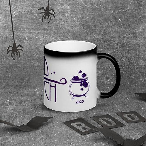 Bad witch Matte Black Magic Mug