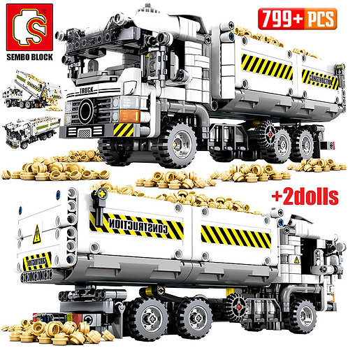 SEMBO 2020 NEW SEMBO 799pcs City Truck Mechanical Earthmoving