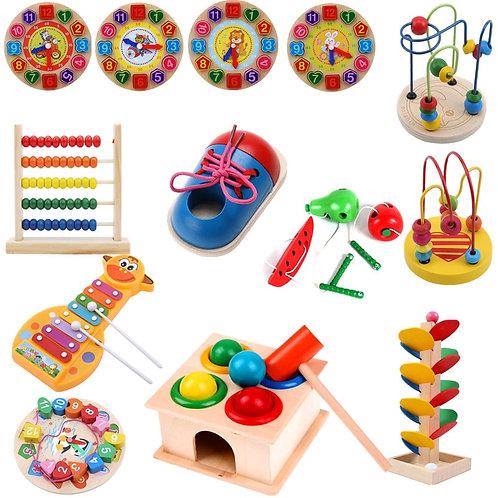 Montessori 1Piece Kids DIY Eva Clock Learning Education