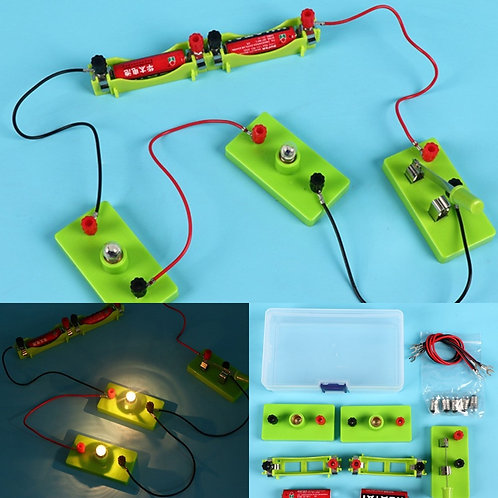 Kids Science Toy Basic Circuit Electricity Learning Physics